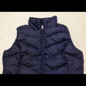 EDDIE BAUER Womens Sz.S EB 550 Goose Down Vest